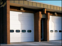 sectional steel commercial doors Euclid ohio